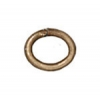 Jump Ring 20 Gauge Oval 2.7x4.2mm Brass Oxide